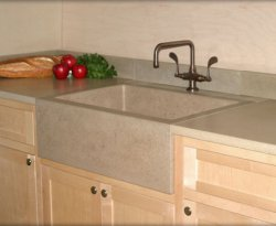 Concrete tiles for your kitchen