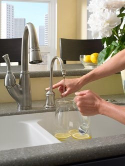 Chilled water at your fingertips
