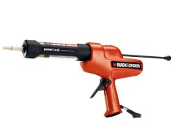 Lightweight battery-powered caulk gun