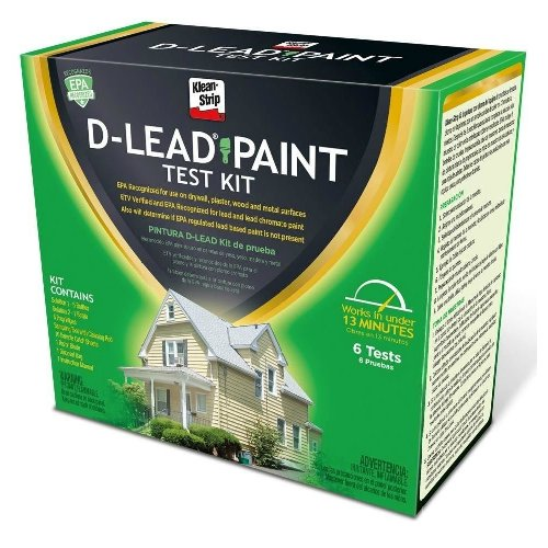 Lead paint test kit